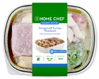Home Chef Oven Kit Stroganoff Turkey Meatballs With Potatoes And Peas With Ground Beef