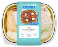 Home Chef Oven Kit Pork Empanada Bowl With Cilantro Rice And Crispy Tortilla Strips