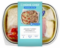 Home Chef Oven Kit Asiago Turkey Meatballs With Tomato Basil Couscous
