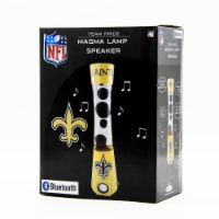 NFL New Orleans Saints Team Pride Magma Lamp Speaker