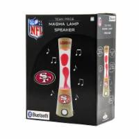 NFL San Francisco 49ers Team Pride Magma Lamp Speaker