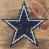 Dallas Cowboys Team Pride String Art Craft Kit - 1 ct