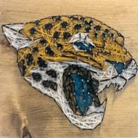 Jacksonville Jaguars Team Pride String Art Craft Kit - 1 ct