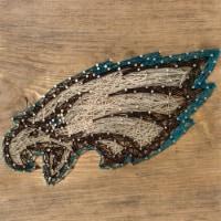 Philadelphia Eagles Team Pride String Art Craft Kit - 1 ct