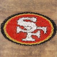 San Francisco 49ers Team Pride String Art Craft Kit - 1 ct
