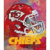 Kansas City Chiefs NFL Team Pride Diamond Painting Craft Kit - 15.4 x 12.8 in