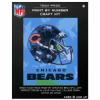 NFL Chicago Bears Team Pride Paint by Number Craft Kit - 1 ct