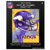 NFL Minnesota Vikings Team Pride Paint by Number Craft Kit - 1 ct
