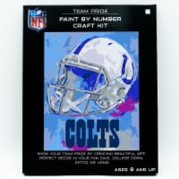 NFL Indianapolis Colts Team Pride Paint by Number Craft Kit - 1 ct