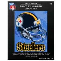 NFL Pittsburgh Steelers Team Pride Paint by Number Craft Kit - 1 ct