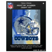 NFL Dallas Cowboys Team Pride Paint by Number Craft Kit - 1 ct