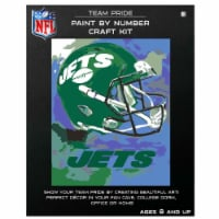 NFL New York Jets Team Pride Paint by Number Craft Kit - 1 ct