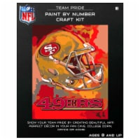 NFL San Francisco 49ers Team Pride Paint by Number Craft Kit - 1 ct