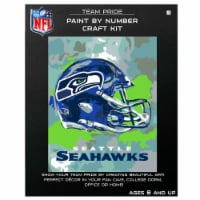 NFL Seattle Seahawks Team Pride Paint by Number Craft Kit - 1 ct
