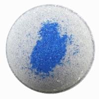 Cosset Black Tourmaline Crystal Bath Bomb - Blue/White