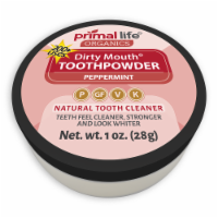 Dirty Mouth Toothpowder Peppermint