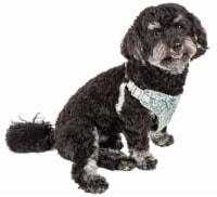 Pet Life HA59BLXS Fidomite Mesh Reversible & Breathable Adjustable Dog Harness with Designer - 1