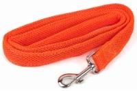 Pet Life LS14OR Aero Mesh Dual Sided Comfortable & Breathable Adjustable Mesh Dog Leash, Oran - 1