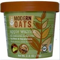 Modern Oats Apple Walnut Oatmeal, 2.6 Ounce -- 12 per case.