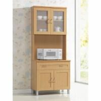 Kitchen Cabinet in Beech Brown - Hodedah - 1