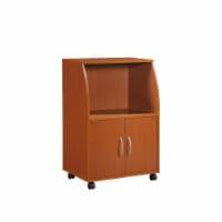 Hodedah HIK74 CHERRY Microwave Cart