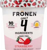 Fronen Strawberry Non-Dairy Frozen Dessert