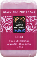 One With Nature Dead Se Minerals Lilac Soap