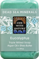 One With Nature Dea Sea Minerals Eucalyptus Soap
