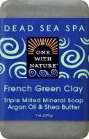 One With Nature French Green Clay Soap