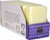 One With Nature Dead Sea Mineral Bar Soap Goat's Milk & Lavender - 6 Bars