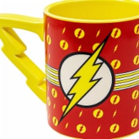 Flash 112794 Flash 20 oz Stripes Logo Mug with Lightning Handle