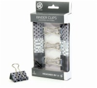 U Brands™ Assorted Binder Clips - 6 pk