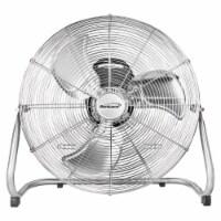 Brentwood 3-Speed 130-Watt High-Velocity Metal Floor Fan - 1