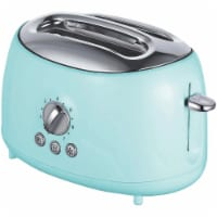 Brentwood TS-270BL 2 Slice Retro Toaster, Blue
