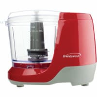 Brentwood Appliances MC-109R 100 watt 1.5 lbs Cup Mini Food Chopper, Red
