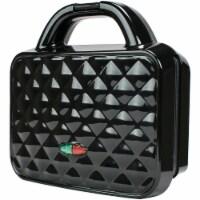 Brentwood Appliances TS-239BK 1080 watt Couture Dual Waffle Maker, Black