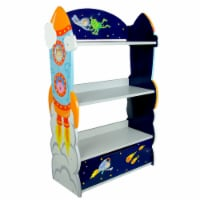 Fantasy Fields Childrens Outer Space Kids Wooden Bookcase Book Shelf TD-12220A - 1