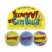 Duckyworld-Yeowww 812402000409 My Cats Balls - 1