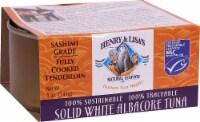 Henry & Lisa's Natural Seafood Solid White Albacore Tuna Sashimi Grade