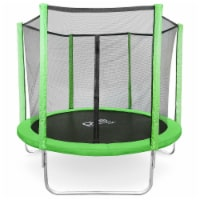 Pure Fun Dura-Bounce 8-Foot Trampoline with Enclosure 9308TS