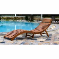 Merry Products CLN0170110000 Curved Folding Chaise Lounger
