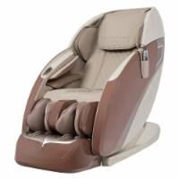 Osaki Otamic LE 3D Zero Gravity Intense Fully Body Massage Chair Recliner, Taupe - 1 Piece