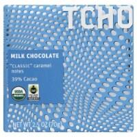 TCHO Organic Milk Chocolate & Caramel Bar