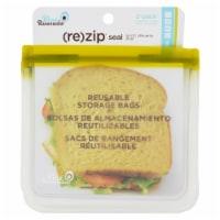 Blue Avocado - Lunch Bag - Re-Zip Seal - Green - 2 Pack - 1