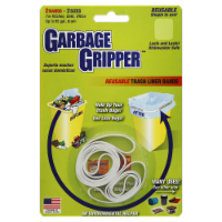 Garbage Gripper Reusable Trash Liner Bands