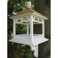 Dream House Feeder - Pine Shingle Roof - 1