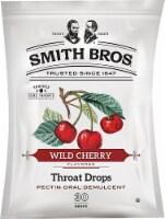 Smith Bros. Throat Drops Wild Cherry - 30 Drops