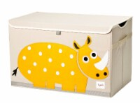 3 Sprouts Kids Toy Chest - Storage Trunk for Boys and Girls Room, Rhino - 1 count