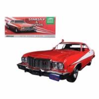 Greenlight 19017 1976 Ford Gran Torino Starsky & Hutch TV Series 1975-79 1-18 Diecast Model C - 1