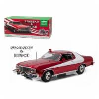 Greenlight 19023 1-18 1976 Ford Gran Torino Starsky & Hutch TV Series 1975-79 Diecast Model C - 1